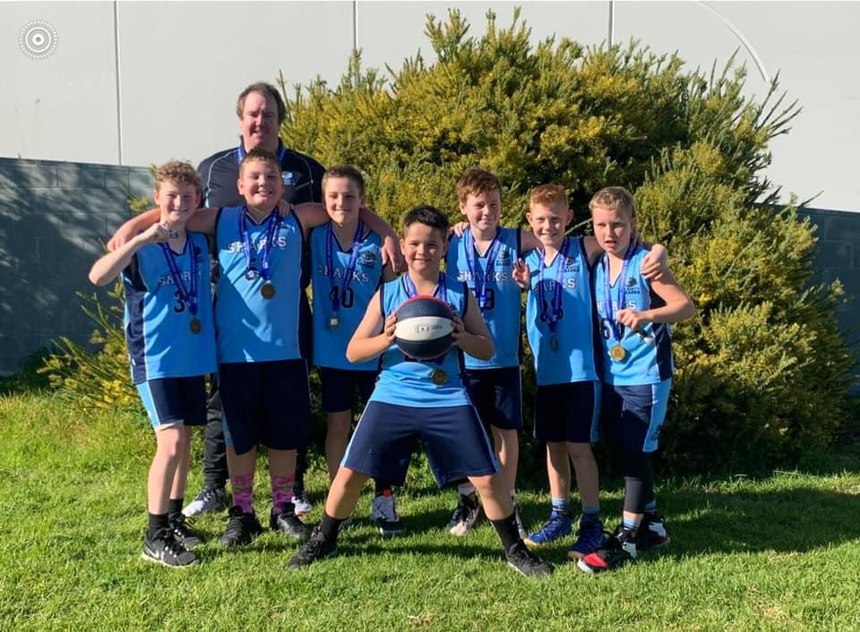 St Marys Sharks Boys Under 12.2 team