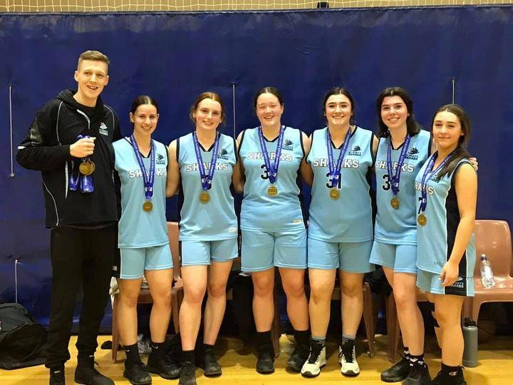 St Marys Sharks Girls Under 19.1 team