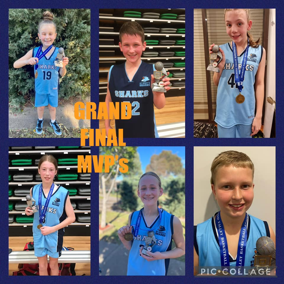 St Marys Sharks Grand Final MVPs